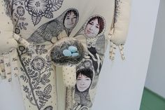"""Adam & Adam's rib"" Textile dolls. on Behance"