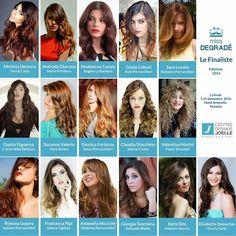 Le 16 finaliste della finale nazionale di Miss Degradé 2014  #cdj #missdegradejoelle #concorso #finaliste