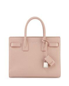 Saint Laurent Sac de Jour Small Carryall Bag, Pale Blush