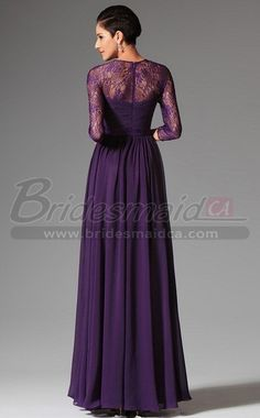 Purple Bridesmaid Dresses Long Sleeve Dressing Room Blog