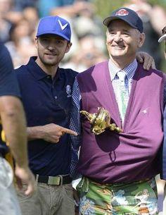 50 Greatest Bill Murray Golf Photos