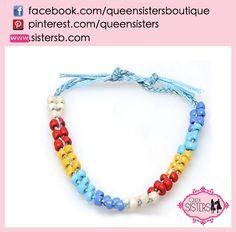 #bracelet #rainbow