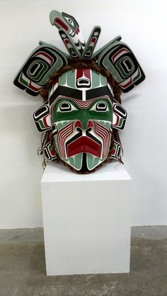 Beau Dick Mask INUIT  ART / ALASKAN NATIVE PEOPLES ' ART / NORTHWESTERN ART / NATIVE CANADIANS' ART : More At FOSTERGINGER @ Pinterest