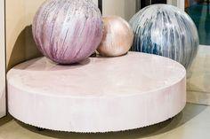 Resin floor_Gobbetto Arte e complementi d'arredo Showroom Milano