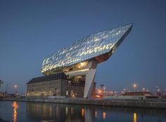 Havenhuis Antwerpen – Zaha Hadid Architects - alle projecten - projecten - de Architect