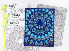 13 May 2018 | Peacock Inspired Grace Panelsby Jeanne Jachna – Birch Press Design |