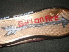 Homemade Hunger Games Shoes