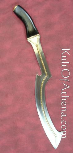 Khopesh @ u@ Egyptian Weapons, Egyptian Art, Ancient Artifacts, Ancient Egypt, Knife Drawing, Great Warriors, Sword Tattoo, Sword Design, Fantasy Weapons