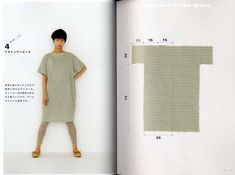 Yoshiko Tsukiori's Straight Stitch Apron and Apron Dresses – Japanese Craft Book MM Paperback: 95 pages Publisher: Takahashi (May Author: Yoshiko Tsukiori Language: Japanese Book Weight: 350 grams 28 projects by machen Diy Clothing, Sewing Clothes, Clothing Patterns, Dress Patterns, Nice Clothes, Linen Dress Pattern, Apron Patterns, Simple Dress Pattern, Shift Dress Pattern