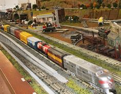 Lionel Train Layouts | Lionel Train Layout Pic #15