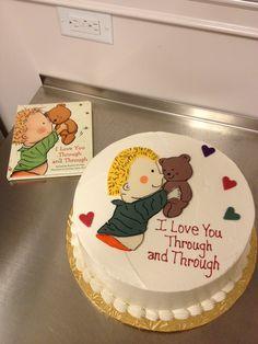 Book Baby Shower Cake