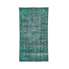 1800getarug Hand-knotted Overdyed Persian Mosel Runner Rug