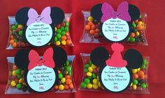 pinterest clear pillow box   Mickey Mouse or Minnie Mouse Clear PVC pillow boxes for Birthday or ...