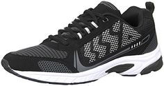 iLoveSIA Men's Comfortable Easy-Go Running Shoe Black White US size 7.5 -- Find out more about the great product at the image link.