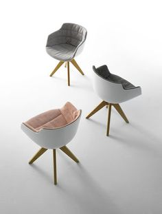 The upholstered Flow Slim Armchair with Oaken legs New Edition was designed by Jean-Marie Massaud for MDF Italia in the year The Flow Slim Armchair Uphol Living Furniture, Fine Furniture, Contemporary Furniture, Luxury Furniture, Take A Seat, Dining Table Chairs, Chair Design, Eames, Armchair