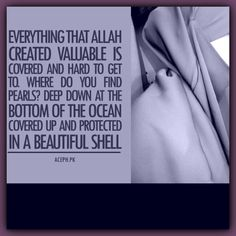 Protection, one of the reasons Allah tells believing women to cover...❤