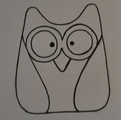 Large Owl Template  On Making A Large Owl Template For My