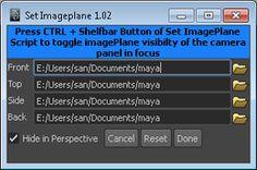 set imageplane maya python script