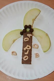 """Chicka Chicka Boom Boom! Make this and read the book in our """"Getting ready for school"""" children's book gift set nestlingnovels.com"""