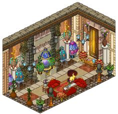Hi! Since it's nearly easter I thought I'd make an eggs collection room! It took me a while to collect all of those eggs (and they were quite expensive as well, I lost all my money lol!) but here t...