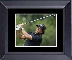 Golf Phil Mickelson Master Winner Framed Art Photograph Print