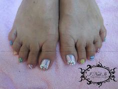 Diy toes red white and blue nail polish for fourth of july easter toe nail art designs ideas 2014 2 easter toe nail art designs ideas 2014 prinsesfo Image collections