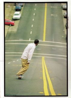 """Its all down hill from here... Great shot and one that starts my board """"4WD"""" dedicated to fantastic skateboarding photos #speed #skate @pinterest"""