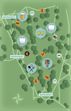 Cultivate Festival map.