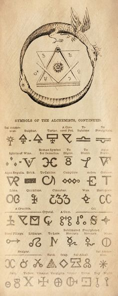 Masonic and Alchemical Symbols Guide | Alchemy | Freemasons | Nordic | Elements