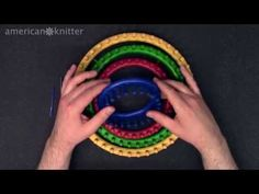 Knifty Knitter Brand Round Knitting Loom Review - YouTube