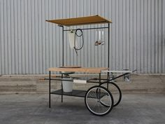 Mobile kitchen Q-CINA by Officine Tamborrino Design MoMAng Design 2800€ (4000)