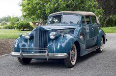 1939 Packard Super 8 17th Series Convertible Sedan