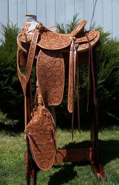 buckaroo saddles | Custom Saddles and Tack Russ Murray-Maker Murray Custom Saddles