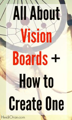 Why our #dreams need a visual representation + how to create a vision board! #visionboard #millennials // The Conscious Perspective