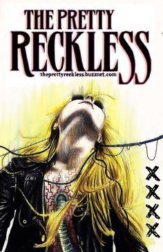 Resultado de imagem para the pretty reckless posters