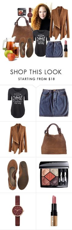 """Apple Picking"" by thelydialondon ❤ liked on Polyvore featuring Solid Light, American Apparel, Chicwish, Lucca Baldi, Hush, Christian Dior, Skagen, Bobbi Brown Cosmetics and country"