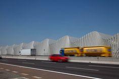 Bahnhof für Hochgeschwindigkeitszüge Reggio Emilia AV Mediopadana von Santiago Calatrava