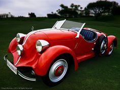 Cette Mercedes-Benz Type 150 Sport Roadster 1934 au Concours d'Elegance de 2010…