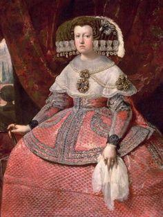 Diego Rodriguez de Silva y Velazquez 1599-1660, Queen Maria Anna of Spain