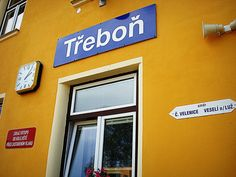 train station, Trebon