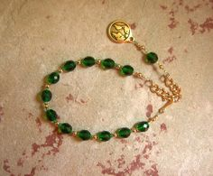 Gaia (Gaea) Prayer Bead Bracelet: Mother Earth, Mother of the Gods, Mother of All That Is. by HearthfireHandworks on Etsy