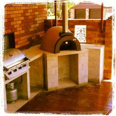 Another freshly-installed pizza oven, this one in #BaulkhamHills #Sydney