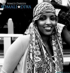 Somali woman, Black beauty.