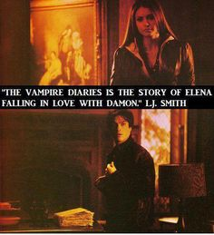 The author even said that the story was all about DELENA!!!!
