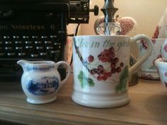 Emma Bridgewater National Trust Miniature Jug - only 9 different designs made and hand painted by Matthew Rice