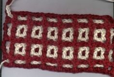 Technique :: Basic interlocking crochet.  Excellent tutorial with lots of photos.