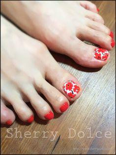 「 UNIKKO☆FOOT Nail 」の画像|Sherry BLOG-Nail  Happy life-|Ameba (アメーバ)