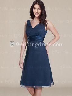 Simple Bridesmaid Dresses_Teal