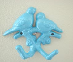 Sparrows Wall Hook, get the hook from Hobby Lobby and spray paint any color!