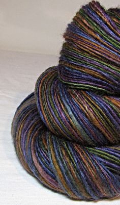 Handspun Yarn Gently Thick and Thin DK Single by SheepingBeauty, $34.00